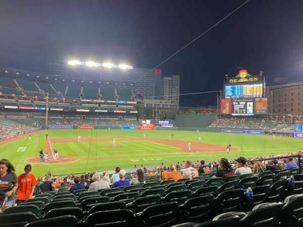 Oriole Park at Camden Yards, section: 26, row: 24