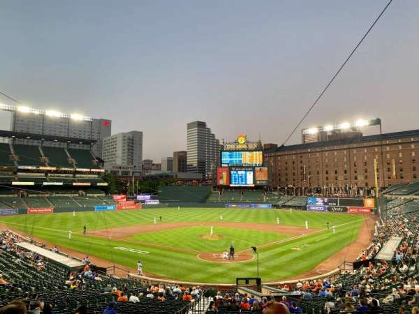 Oriole Park at Camden Yards, section: 37, row: 5