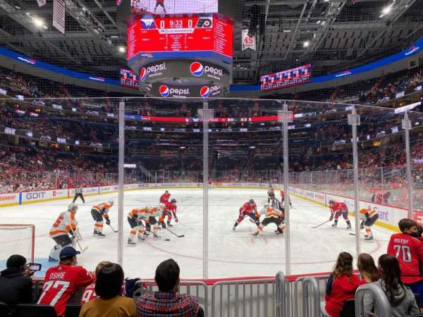 Capital One Arena, section: 106, row: 7, seat: 11