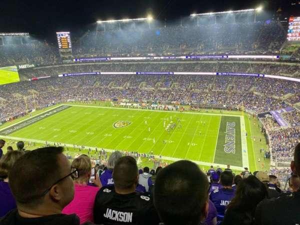 M&T Bank Stadium, section: 523, row: 19, seat: 5