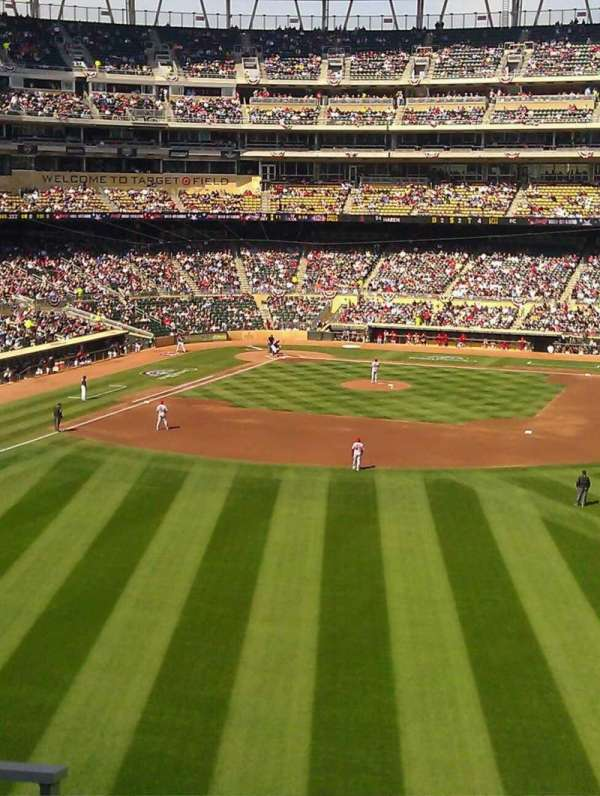 Target Field, section: 240, row: 4, seat: 28