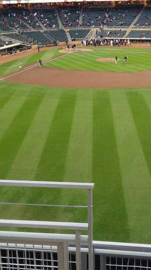 Target Field, section: 239, row: 4, seat: 29