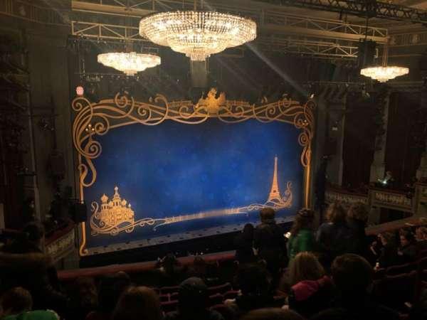 Broadhurst Theatre, section: Mezzanine L, row: J, seat: 9
