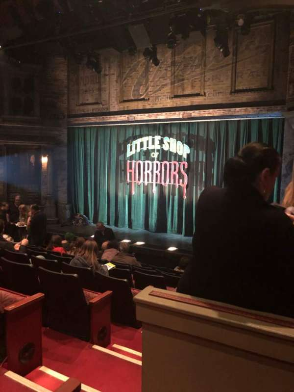 Westside Theatre, section: OrchR, row: J, seat: 4