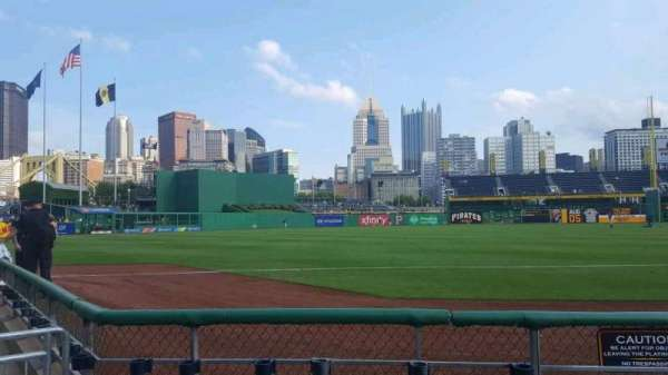 PNC Park, section: 29, row: D, seat: 1