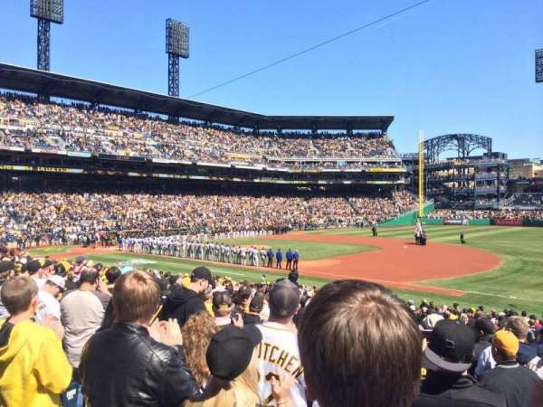 PNC Park, section: 107, row: N, seat: 14
