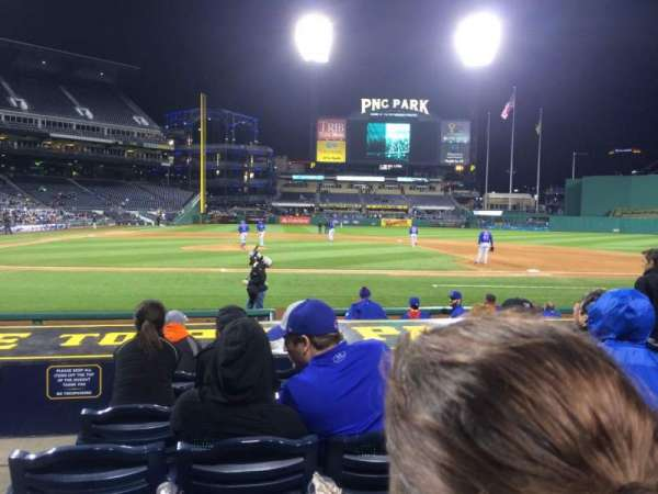 PNC Park, section: 12, row: L, seat: 10