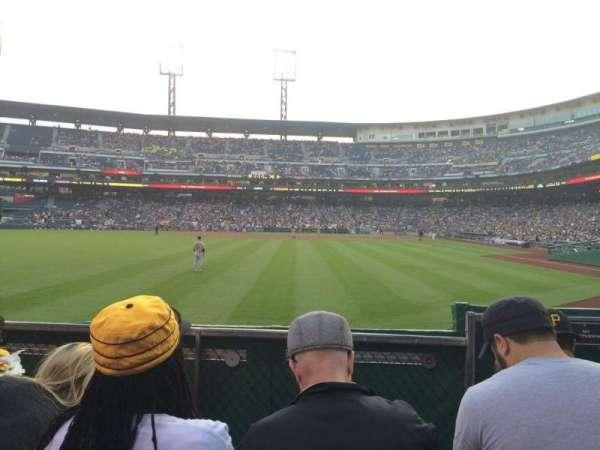 PNC Park, section: 135, row: D, seat: 5