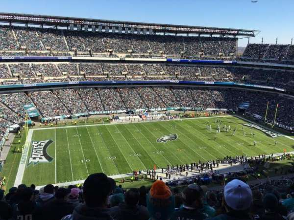Lincoln Financial Field, section: 242, row: 17, seat: 16