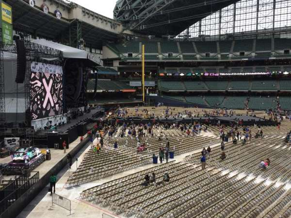 Miller Park, section: 233, row: 1, seat: 13