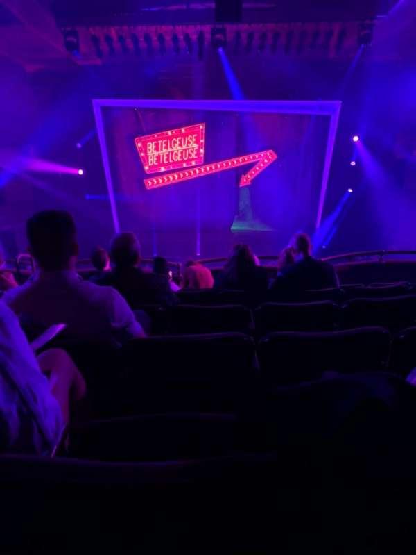 Winter Garden Theatre, section: Mezzanine RC, row: F, seat: 112