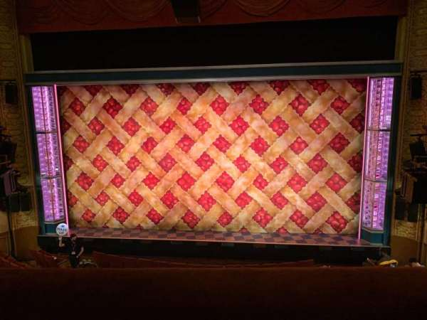 Ethel Barrymore Theatre, section: Front Mezzanine C, row: A, seat: 111