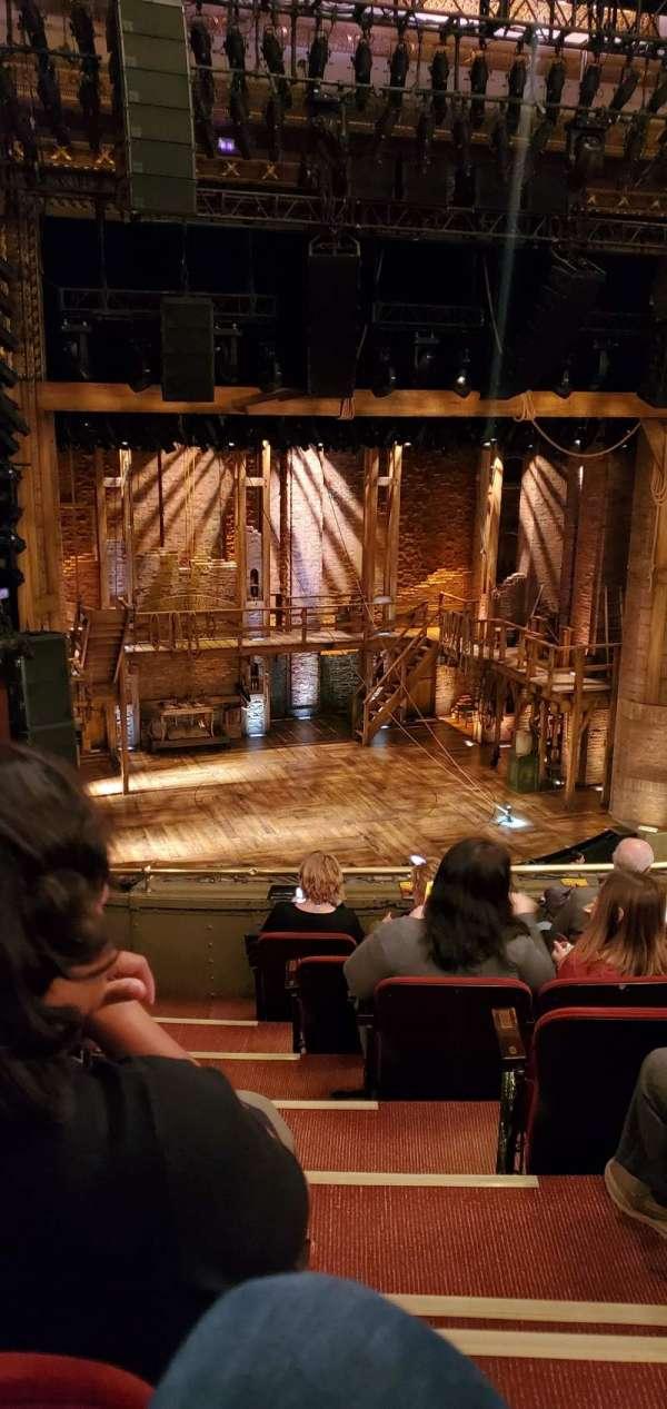 CIBC Theatre, section: Mezzanine L, row: G, seat: 1