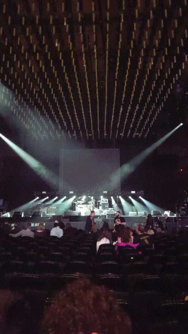 Madison Square Garden, section: Floor B, row: 18, seat: 13