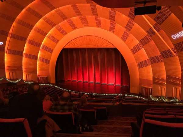 Radio City Music Hall, section: 2nd Mezzanine 1, row: F, seat: 110