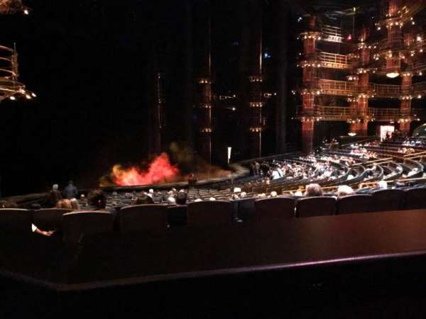 KÀ Theatre - MGM Grand, section: 201, row: BB, seat: 1