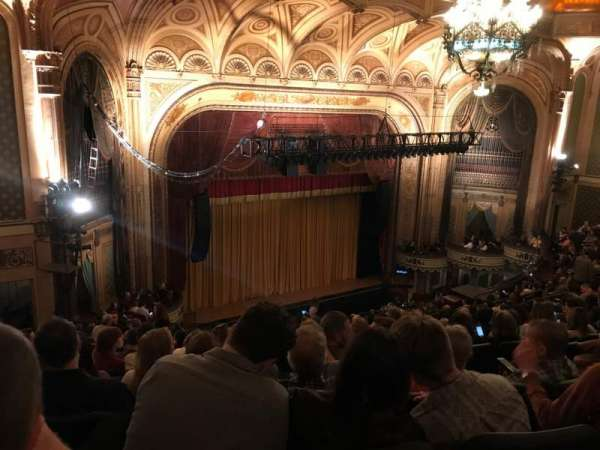 Orpheum Theatre (Los Angeles), section: BALC, row: Q, seat: 135