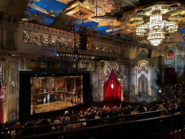 Hollywood Pantages Theatre, section: Mezzanine L, row: K, seat: 19