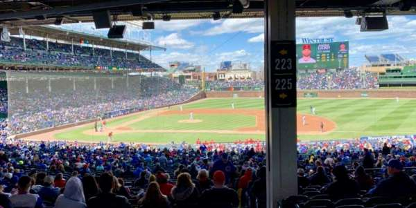 Wrigley Field, section: 223, row: 14, seat: 25