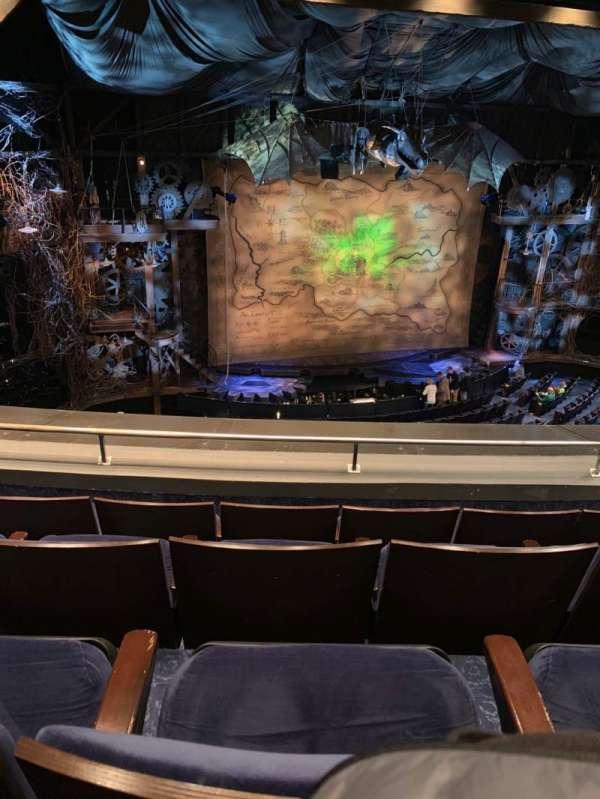 Gershwin Theatre, section: FMEZZ, row: D, seat: 7