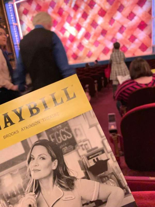 Brooks Atkinson Theatre, section: ORCH, row: M, seat: 2