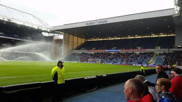 Ibrox Stadium, section: GF5, row: B, seat: 159