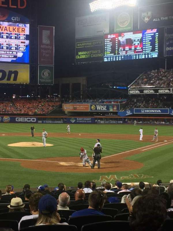 Citi Field, section: 16, row: 16, seat: 10