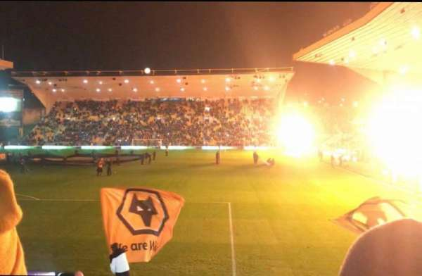 Molineux Stadium, section: NL2, row: L, seat: 35