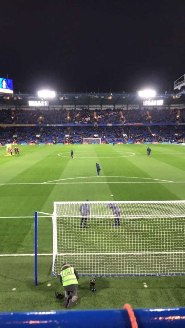 Stamford Bridge, section: SHED UPPER, row: 1, seat: 138