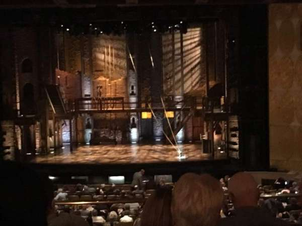 Fisher Theatre, section: MZCTR, row: D, seat: 100