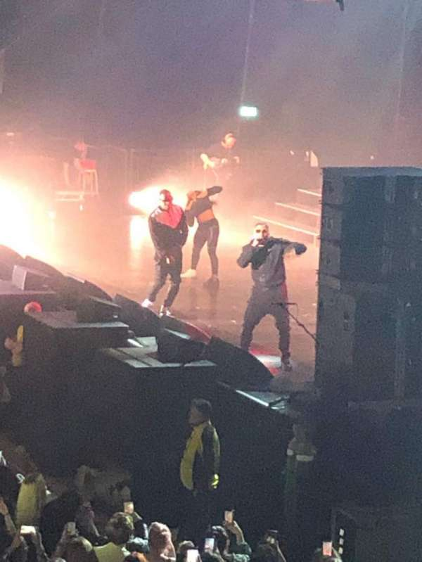 Motorpoint Arena Cardiff, section: South Balcony, row: A, seat: 10
