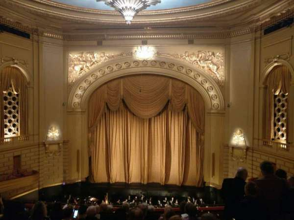 War Memorial Opera House, section: Dress Circle Premium Front, row: B, seat: 108