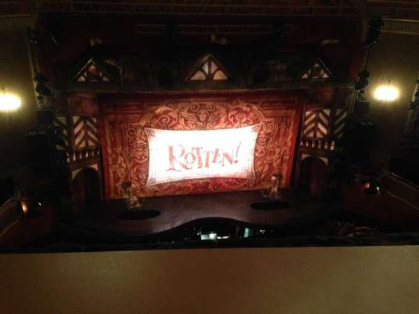 St. James Theatre, section: Balcony C, row: A, seat: 113