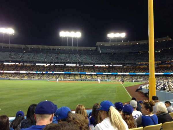 Dodger Stadium, section: 51fd, row: E, seat: 8