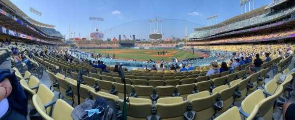 Dodger Stadium, section: 5FD, row: N, seat: 7