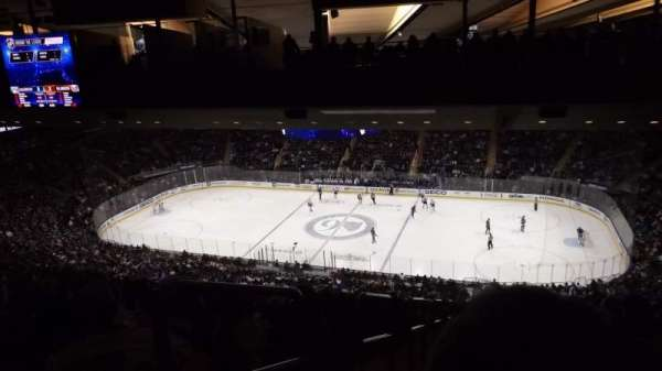 Madison Square Garden, section: 226, row: 22, seat: 1