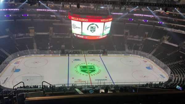 Staples Center, section: 318, row: 11, seat: 24