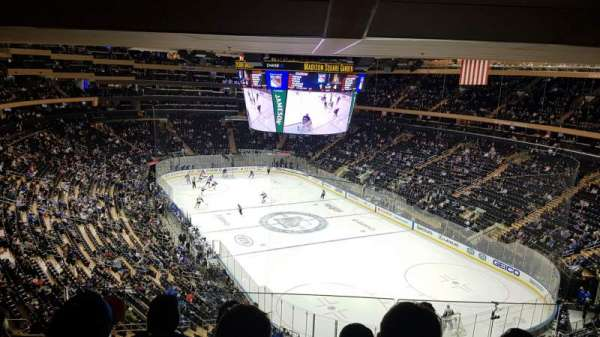 Madison Square Garden , section: 414, row: 4, seat: 14