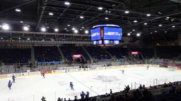 Coca-Cola Coliseum, section: 111, row: N, seat: 24