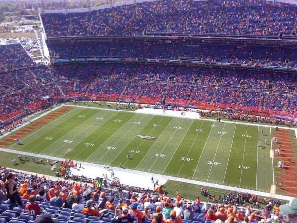 Broncos Stadium at Mile High, section: 531, row: 41, seat: 2