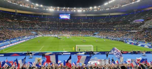 Stade de France, section: K4, row: 30, seat: 30