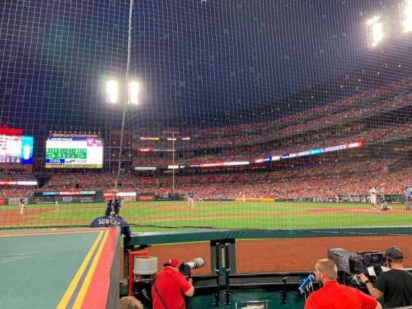 Busch Stadium, section: 156, row: A, seat: 3