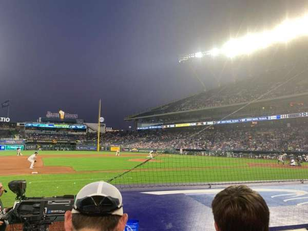 Kauffman Stadium, section: 119, row: B, seat: 3-4
