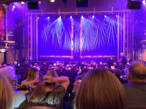 Brooks Atkinson Theatre, section: Orchestra C, row: O, seat: 108