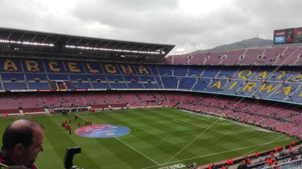 Camp Nou, section: 332, row: 25, seat: 02