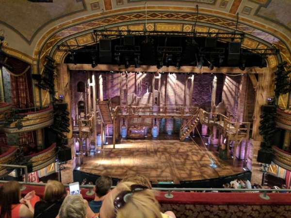 Richard Rodgers Theatre, section: Front Mezzanine C, row: D, seat: 112