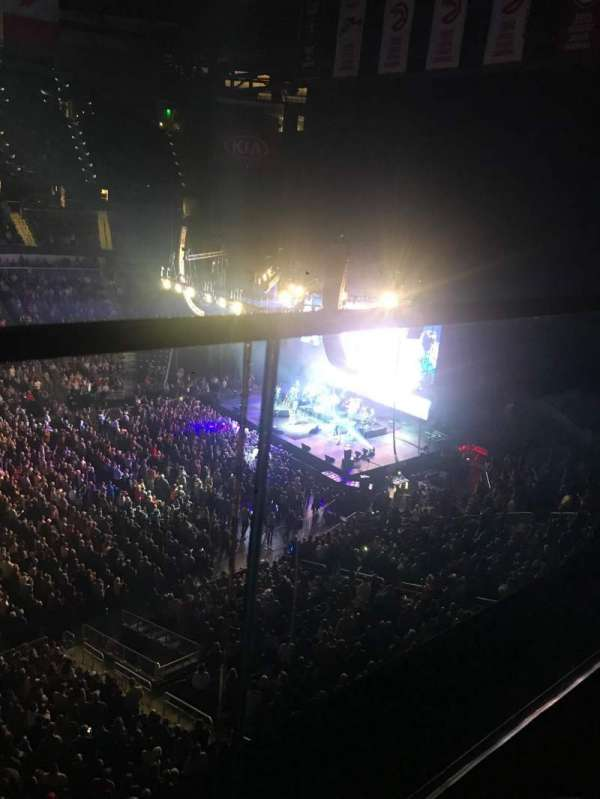State Farm Arena, section: 209, row: A, seat: 14