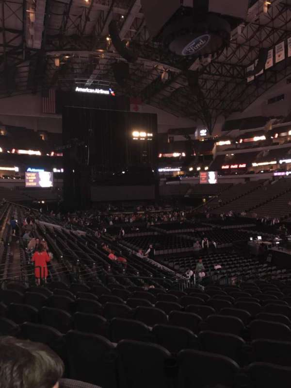 American Airlines Center, section: 115, row: T, seat: 4
