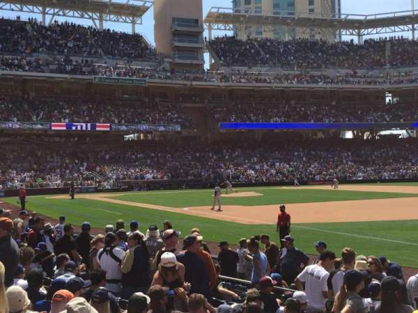 PETCO Park, section: 117, row: 13, seat: 3