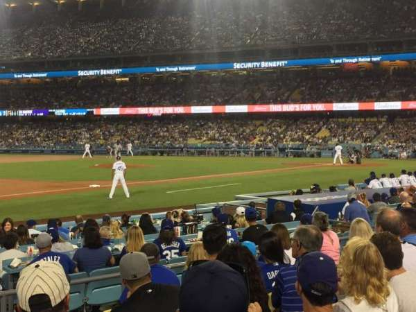 Dodger Stadium, section: 31FD, row: G, seat: 3